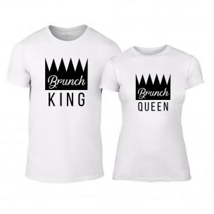 Тениски за двойки Brunch бели