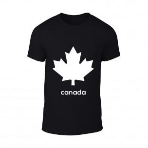 Мъжка черна тениска Canada