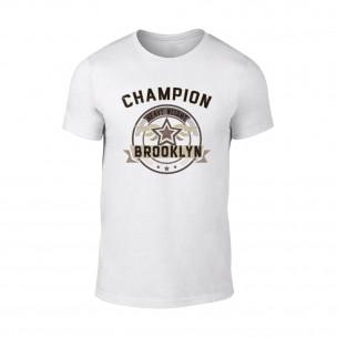Мъжка бяла тениска Champion