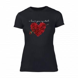 Дамска тениска Roseheart, размер L