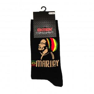 Мъжки забавни чорапи Bob Marley