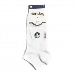 Мъжки бели къси чорапи