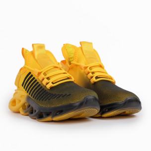 Мъжки маратонки Rogue жълт градиент 2