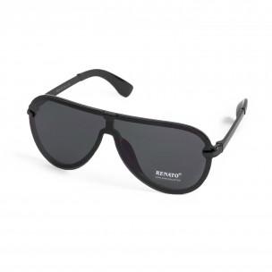 Очила бъбрек тип маска със скрита рамка  2