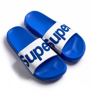 Мъжки джапанки Super в синьо