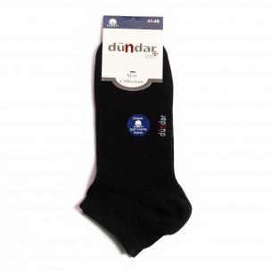 Мъжки черни къси чорапи