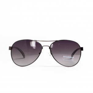 Опушени пилотски слънчеви очила