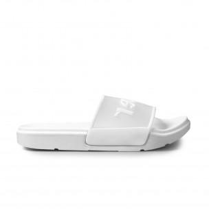 Чехли със силиконова лента в бяло