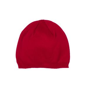Basic мъжка плетена шапка в червено