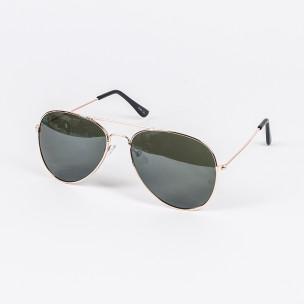 Пилотски слънчеви очила зелени стъкла
