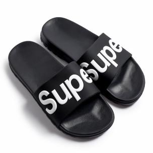 Мъжки джапанки Super в черно