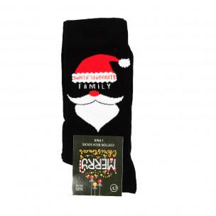 Ароматизирани коледни чорапи черни