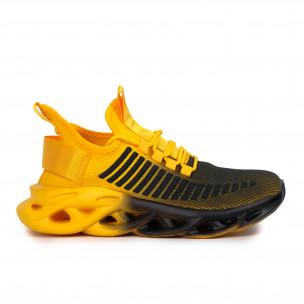 Мъжки маратонки Rogue жълт градиент