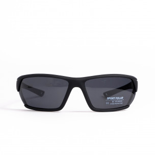 Черни спортни очила с детайл
