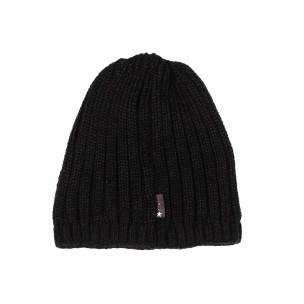 Черна мъжка шапка ластична плетка  2