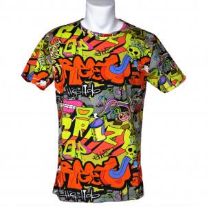 Мъжка тениска с комикси Crazy