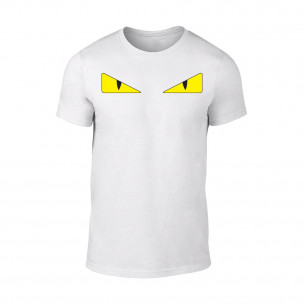 Мъжка бяла тениска Bird Eyes