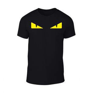 Мъжка черна тениска Bird Eyes