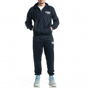 Мъжки син спортен комплект Big Size New Style