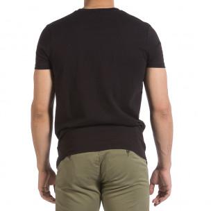 Мъжка черна тениска New York City 2