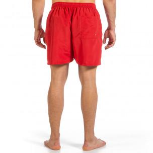 Мъжки червен бански Basic Big Size 2