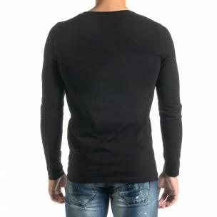 Мъжка черна блуза Panda Skull 2