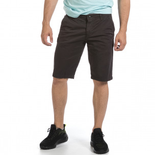 Мъжки сиви къси панталони & Big Size