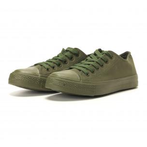 Мъжки кецове военно зелени 2