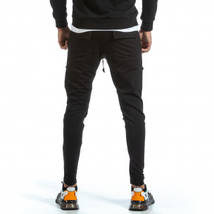 Мъжко черно долнище 6 джоба 2Y Premium 2