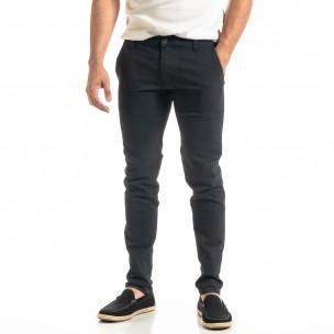 Slim fit Chino мъжки панталон тъмносин
