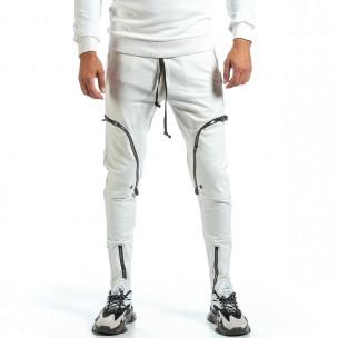 Мъжко бяло долнище 6 джоба 2Y Premium