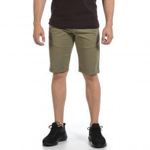 Мъжки зелени къси панталони & Big Size  2