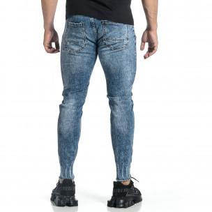 Мъжки дънки с еластични прокъсвания Capri fit 2