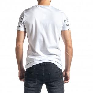 Мъжка бяла тениска Mickey 2