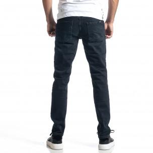Long Slim мъжки тъмносини дънки  2