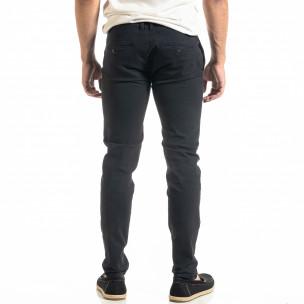 Slim fit Chino мъжки панталон тъмносин  2