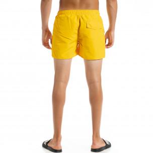 Basic мъжки жълт бански  2