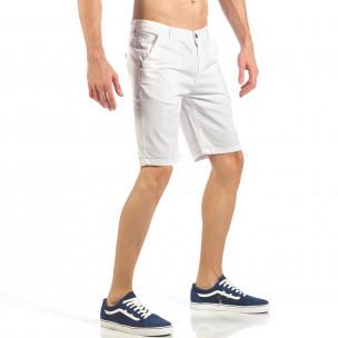 Мъжки бели къси панталони  2