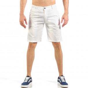 Мъжки бели къси панталони