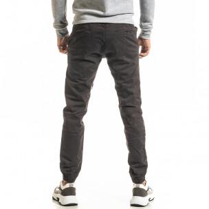 Мъжки сив панталон Jogger 2