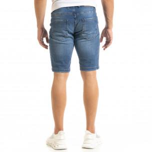 Мъжки сини къси дънки 2