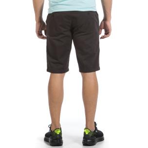 Мъжки сиви къси панталони & Big Size  2
