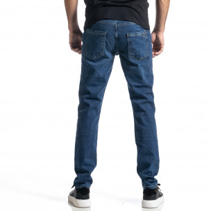 Long Slim мъжки сини дънки  2
