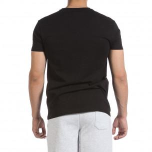 Мъжка черна тениска Givova 2