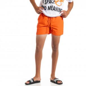 Basic мъжки оранжев бански