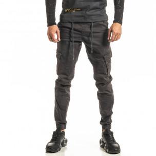 Мъжки сив Cargo Jogger панталон