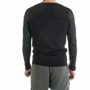 Мъжка черна блуза Melancholy 2