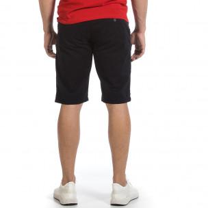 Мъжки тъмносини къси панталони & Big Size  2