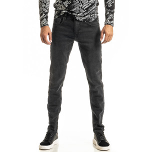 Long Slim мъжки черни дънки