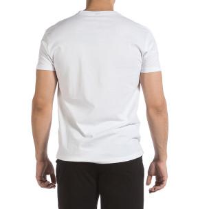 Мъжка бяла тениска Givova 2